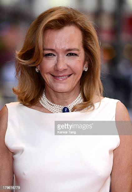 Caroline GruosiScheufele attends the world premiere of 'Diana' at Odeon Leicester Square on September 5 2013 in London England