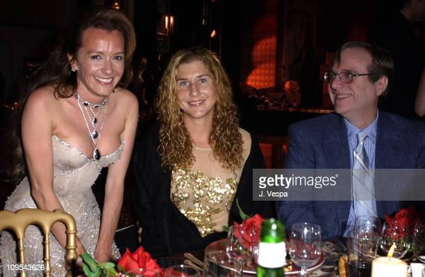 Caroline GruosiScheufele Monica Seles and Paul Allen