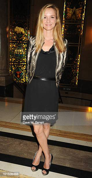 Caroline Hickman attends the Quintessentially Awards at Freemasons Hall on June 1 2010 in London England