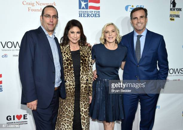 Caroline Hirsch Lee Woodruff and Bob Woodruff attend the 11th Annual Stand Up for Heroes Event presented by The New York Comedy Festival and The Bob...