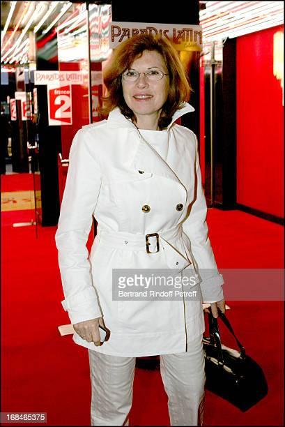 Caroline Huppert at Dalida TV Film Tribute To The Singer