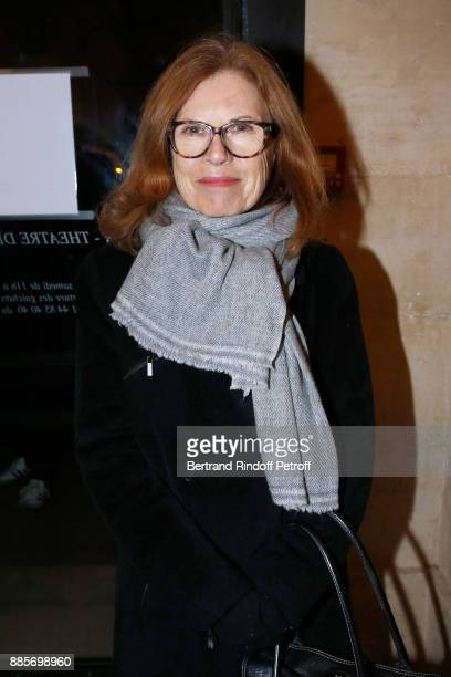 Caroline Huppert attends the Tribute to Actress Jeanne Moreau at Odeon Theatre on December 4 2017 in Paris France