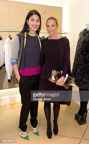 Caroline Issa and Tiphaine De Lussy attend the Deconstructed Project with a private dinner hosted by Caroline Issa, David Shrigley and Massimo...