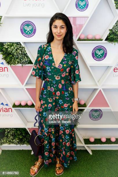 Caroline Issa attend the evian Live Young suite during Wimbledon 2017 on July 15 2017 in London England
