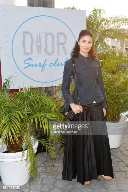 Caroline Issa attends Christian Dior Cruise 2018 Welcome Dinner at Gladstone's Malibu on May 10 2017 in Malibu California