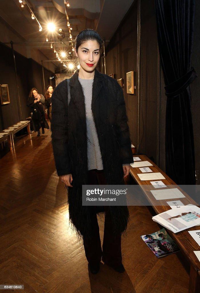 Sachin & Babi - Front Row - February 2017 - New York Fashion Week