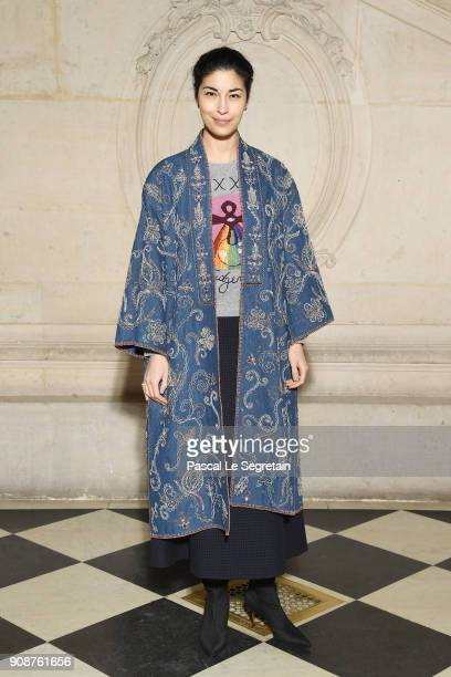 Caroline Issa attends the Christian Dior Haute Couture Spring Summer 2018 show as part of Paris Fashion Week on January 22 2018 in Paris France