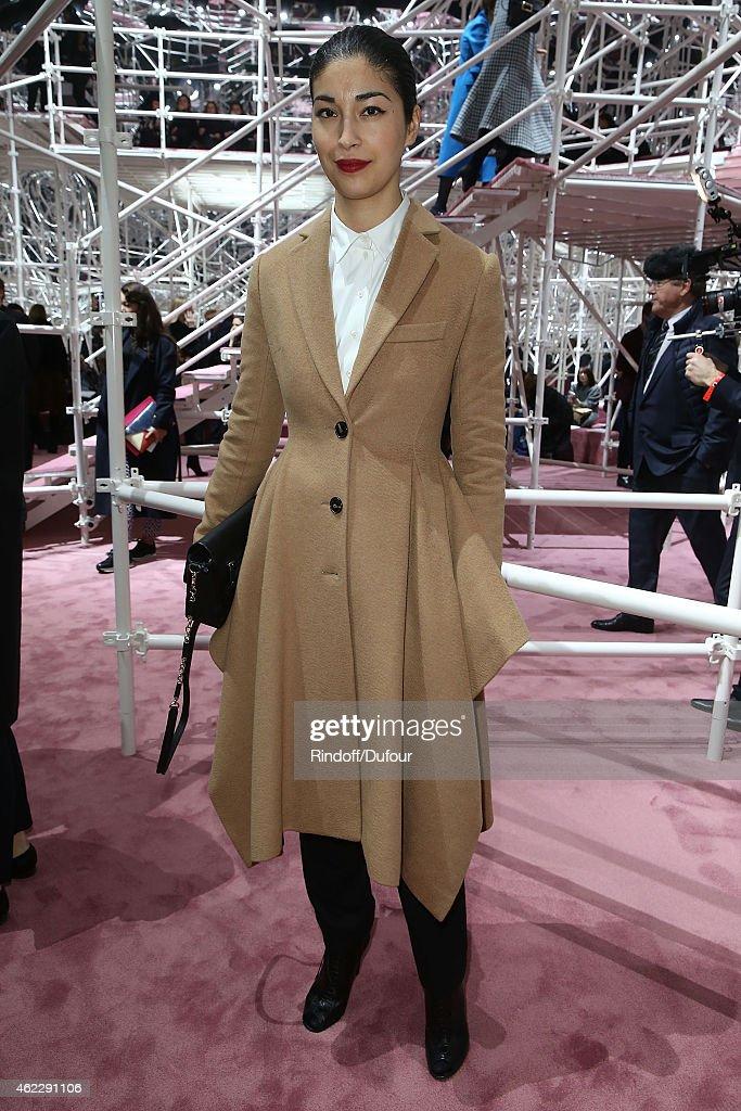 Christian Dior : Front Row - Paris Fashion Week - Haute Couture S/S 2015 : News Photo