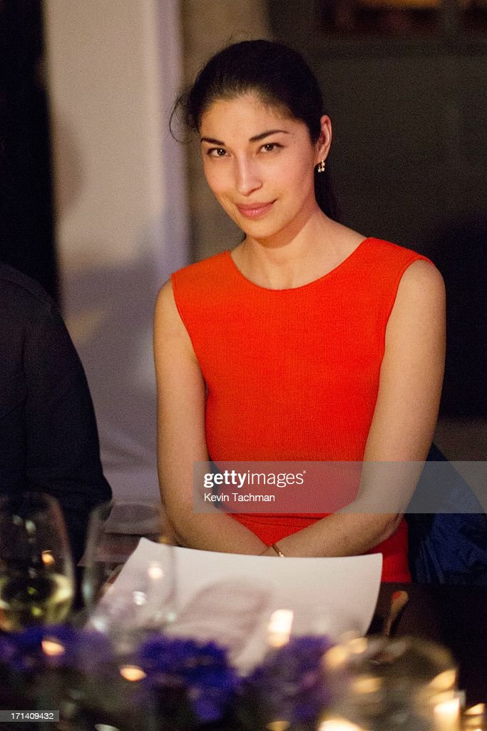 Caroline Issa attends the dinner to celebrate Italo Zucchelli's ten years as Calvin Klein Collection's mens creative director on June 23, 2013 in Milan, Italy.