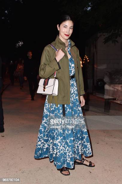 Caroline Issa attends the Gucci Cruise 2019 show at Alyscamps on May 30 2018 in Arles France