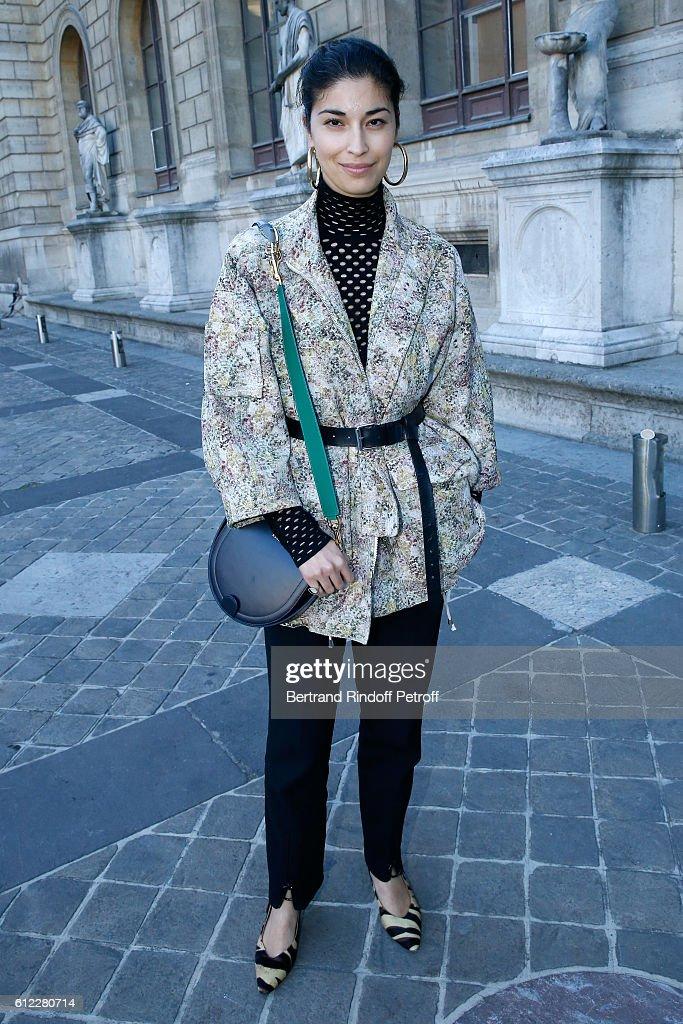 Sonia Rykiel : Front Row - Paris Fashion Week Womenswear Spring/Summer 2017