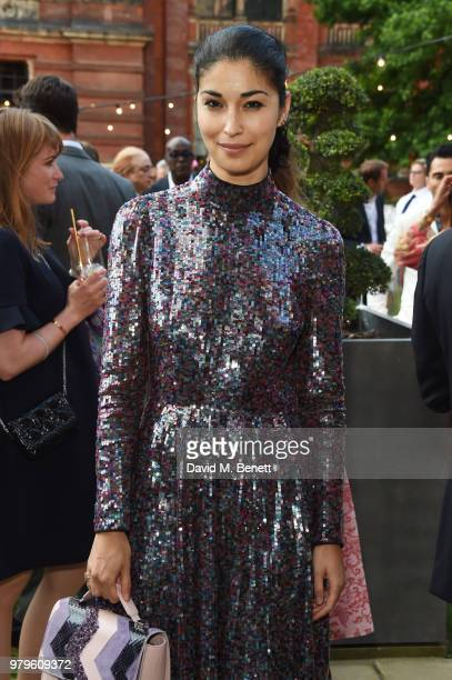 Caroline Issa attends the Summer Party at the VA in partnership with Harrods at the Victoria and Albert Museum on June 20 2018 in London England