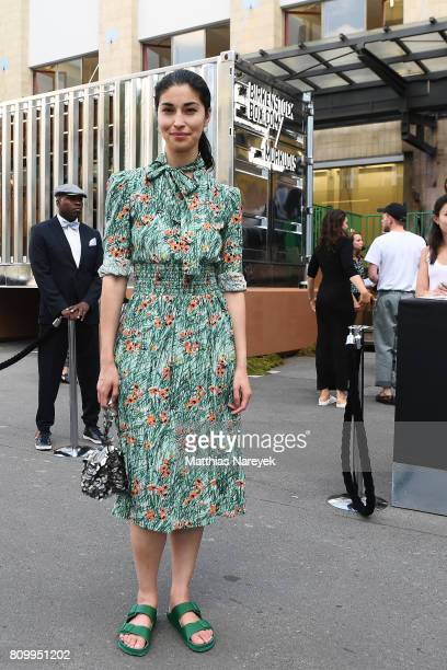 Caroline Issa is seen during the Birkenstock Box Launch at Andreas Murkudis on July 6 2017 in Berlin Germany