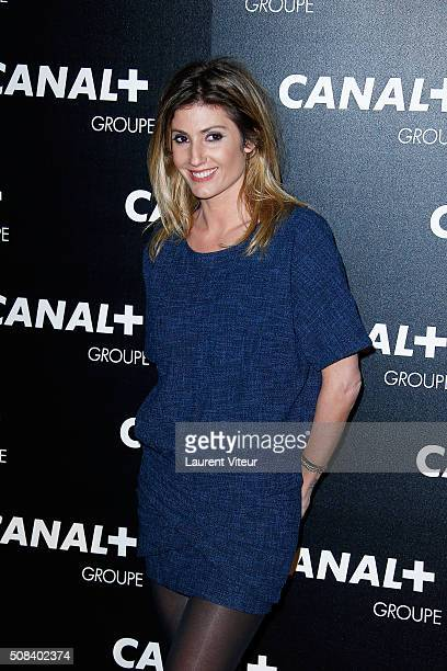 Caroline Ithurbide attends the 'Canal Animators' Party At Manko on February 3 2016 in Paris France