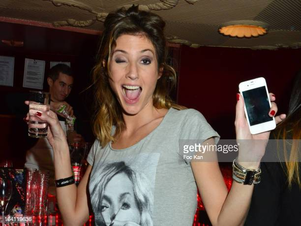 Caroline Ithurbide attends the Sushi Shop's Box Endorsed By Kate Moss Launch At La Nouvelle Eve Cabaret on March19 2013 in Paris France