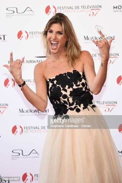 Caroline Iturbine attends the 57th Monte Carlo TV Festival Opening Ceremony on June 16, 2017 in Monte-Carlo, Monaco.