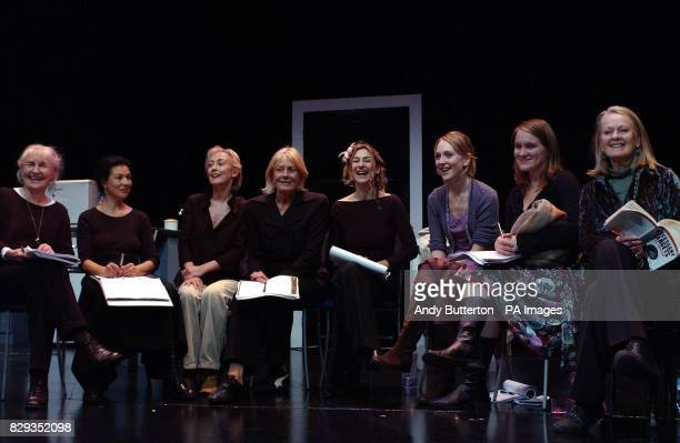 LR Caroline John Stella Maris Paula Wilcox Vanessa Redgrave Susannah Wise Hattie Morahan Zoe Waites and Anna Carteret during a photocall for a new...