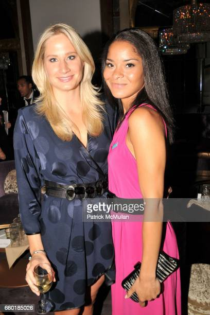 Caroline Johnston Polisi and Jillian Gumbel attend UNICEF's Next Generation Launch Event at The Gates on July 23 2009 in New York City