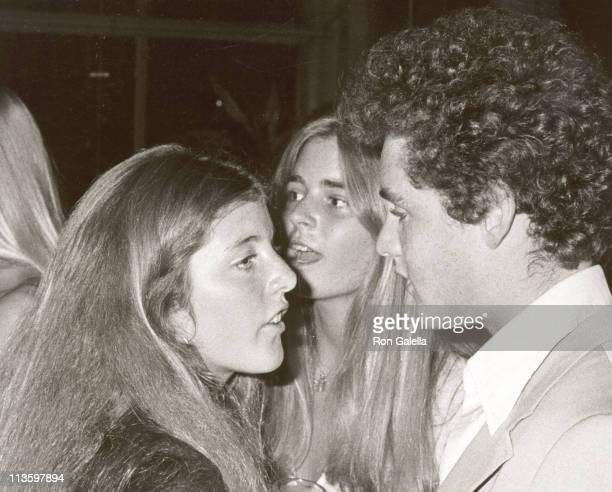 Caroline Kennedy and Cousin during RFk ProCelebrity Tennis Tournament PreParty at Rainbow Room in New York City New York United States