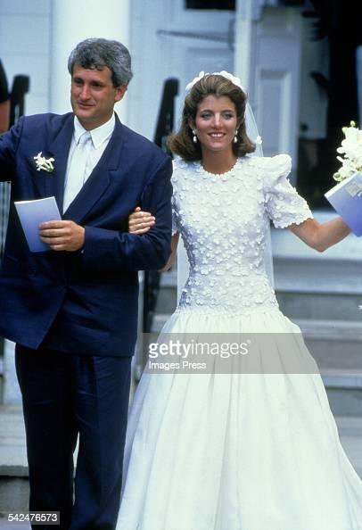 Caroline kennedy wedding pictures getty images for Tatiana schlossberg wedding dress