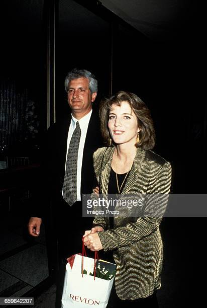 Caroline Kennedy and husband Edwin Schlossberg circa 1993 in New York City