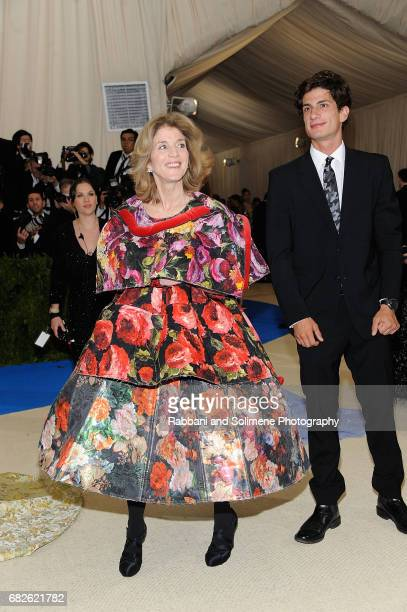 Caroline Kennedy and Jack Schlossberg attend 'Rei Kawakubo/Comme des Garcons Art Of The InBetween' Costume Institute Gala Arrivals at Metropolitan...