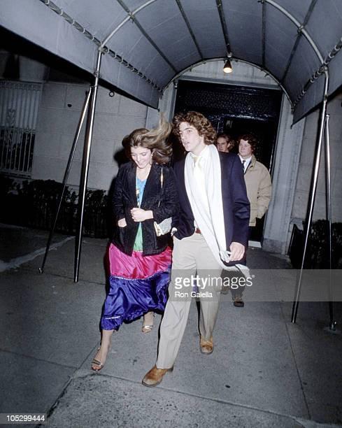 Caroline Kennedy and John F Kennedy Jr during 21st 18th Birthday Party for Caroline Kennedy and John F Kennedy Jr at Le Club in New York City New...