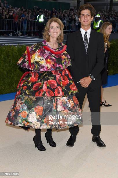 Caroline Kennedy and John Schlossberg attend the 'Rei Kawakubo/Comme des Garcons Art Of The InBetween' Costume Institute Gala at Metropolitan Museum...