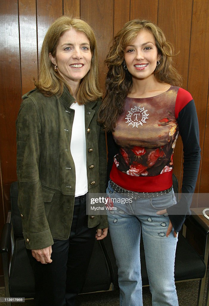Caroline Kennedy and Thalia