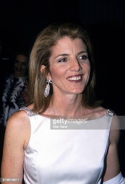 Caroline Kennedy at the Metropolitan Museum's Costume Institute gala exhibition, New York, New York, April 23, 2001.