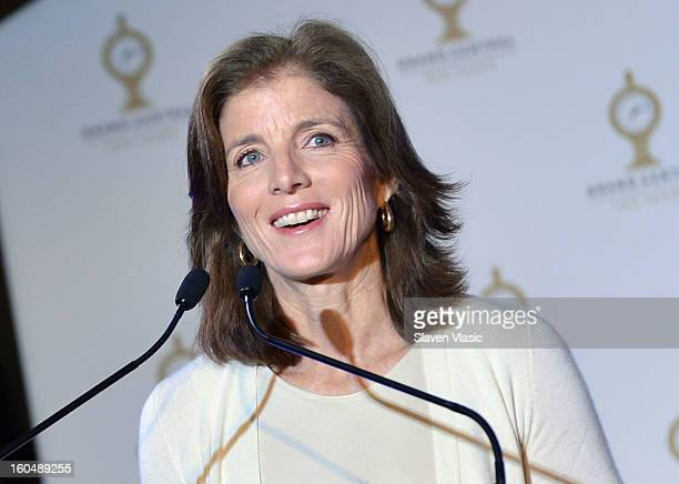 Caroline Kennedy attends Grand Central Terminal 100th Anniversary Celebration at Grand Central Terminal on February 1 2013 in New York City