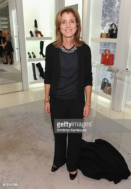 Caroline Kennedy attends 'Shop for Public Schools' celebrated by Dior and Fund For Public Schools at the Dior Boutique on October 1 2009 in New York...