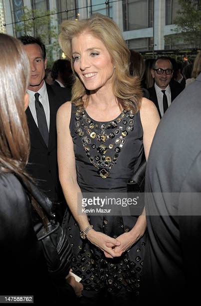 Caroline Kennedy attends the 2010 CFDA Fashion Awards at Alice Tully Hall, Lincoln Center on June 7, 2010 in New York City.