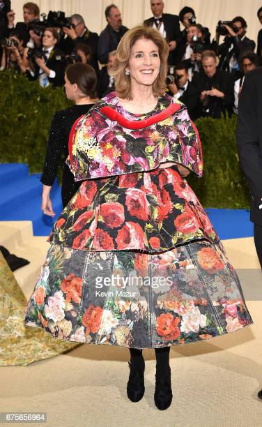 Caroline Kennedy attends the 'Rei Kawakubo/Comme des Garcons Art Of The InBetween' Costume Institute Gala at Metropolitan Museum of Art on May 1 2017...