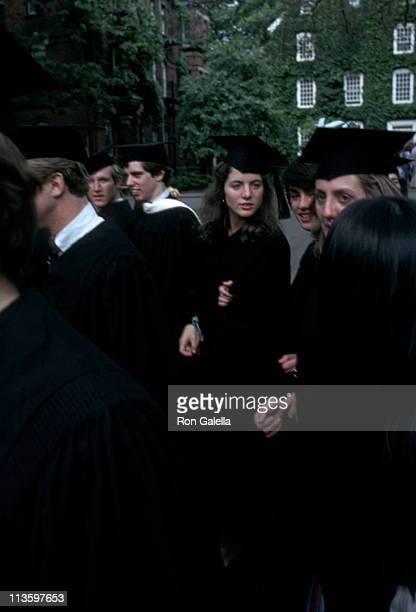 Caroline Kennedy during Caroline Michael Kennedy's Graduation From Harvard at Harvard University in Cambridge Massachusetts United States