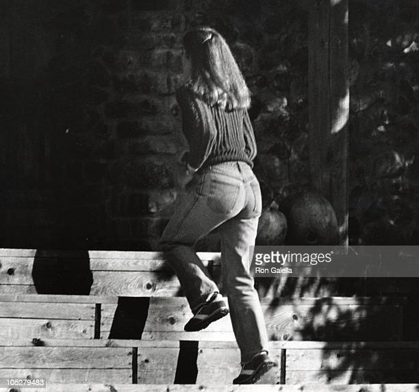 Caroline Kennedy during Out And About at Ed Schlossberg's Home at Ed Schlossberg's Home in Berkshires Massachusetts United States