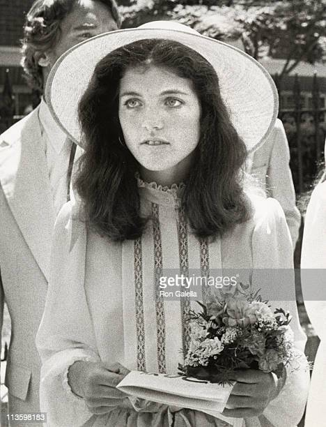 Caroline Kennedy during Wedding of Courtney Kennedy and Jeff Ruhe at Holy Trinity Church in Georgetown Washington DC United States