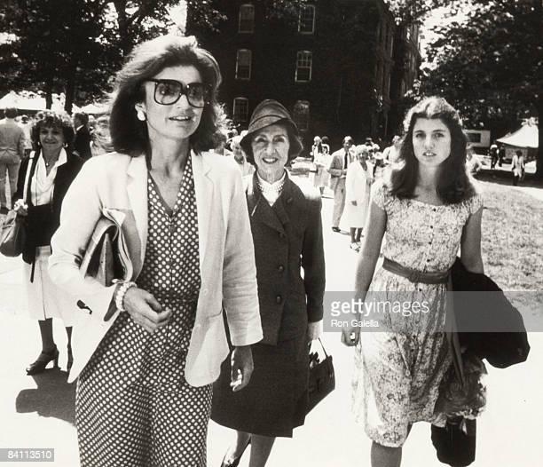 Caroline Kennedy Jackie Onassis mother Janet Auchincloss