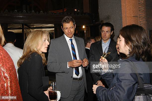 Caroline Kennedy Jeff Goldblum and Jada Yuan attend VANITY FAIR Tribeca Film Festival Party hosted by Graydon Carter and Robert DeNiro at The State...