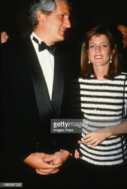Caroline Kennedy Schlossberg and Edwin Schlossberg circa 1988 in New York City