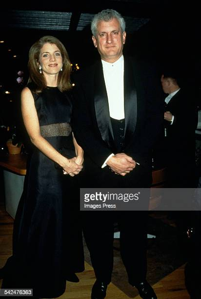 Caroline Kennedy Schlossberg and Edwin Schlossberg circa 1997 in New York City