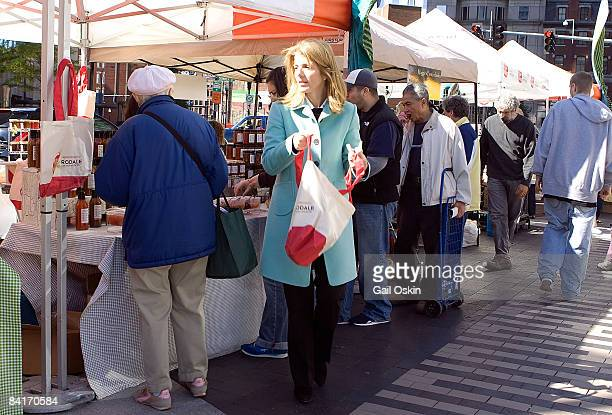 Caroline Kennedy Schlossberg attends Rodale sponsors Boston Public Market as part of Rose F Kennedy Greenway's Inaugural weekend at Dewey Square on...