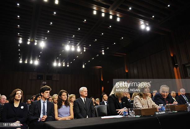 Caroline Kennedy testifies before the Senate Foreign Relations Committee on her nomination to be ambassador to Japan in the Hart Senate Office...