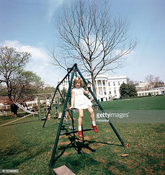 White House Swing Set Stock Pictures