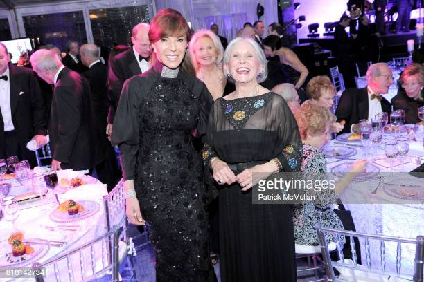 Caroline Kimmel and Pearl Nipon attend National Museum of American Jewish History Grand Opening Gala at Market Street 5th on November 13 2010 in...
