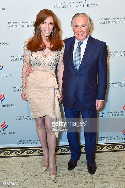 Caroline Kimmel and Sidney Kimmel attend National Museum of American Jewish History Only in America Gala at Gotham Hall on June 1 2016 in New York...