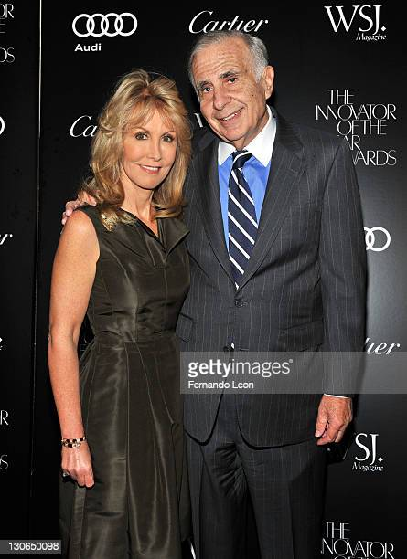 Caroline Kimmel and Sidney Kimmel attend the 2011 WSJ Magazine Innovator of the Year Awards at the Museum of Modern Art on October 27 2011 in New...