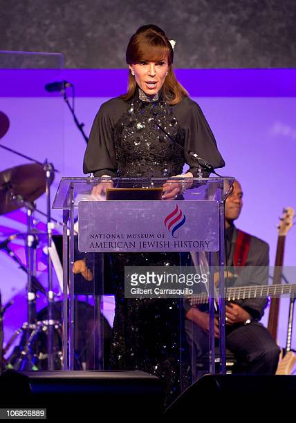 Caroline Kimmel attends the National Museum of American Jewish History opening gala hosted by Jerry Seinfeld and Bette Midler at National Museum of...