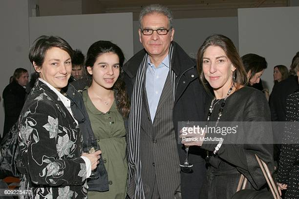 Caroline Kimmel Danielle DiPersia Joe DiPersia and Elisa Cohen attend Cynthia Steffe Fall 2007 Collection at Exit Art on February 6 2007 in New York...