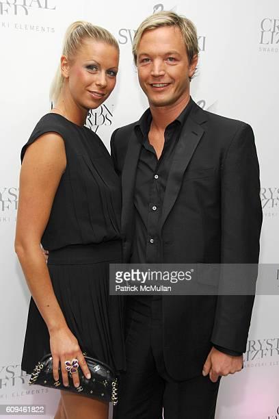 Caroline LangesSwarovski and Markus LangesSwarovski attend Swarovski CFDA Nominee Honoree Dinner at Top of the Rock at Rockefeller Center on June 3...